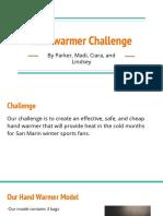 handwarmer challenge