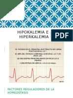 Hipokalemia e Hiperkalemia