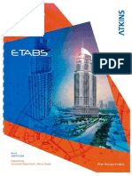 ATKINS Manual for Analysis & Design Using ETABS