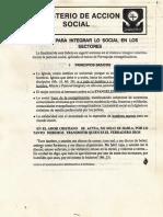 Ministerio de Accion Social