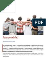 Pansexualidad