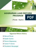 Agrarianlandreformprogramroxas Aquino 130310065049 Phpapp01