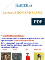 6 Combustion and Flame