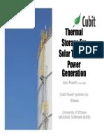 (i) Solar Thermal Energy Storage System Best