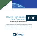 How Participate Linux Community