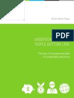 SCAA White Paper_Triple Bottom Line