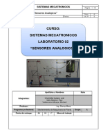 Laboratorio 2 Sensores Analógicos