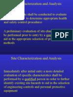 Site Characterization1