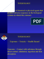 Toxicology 1