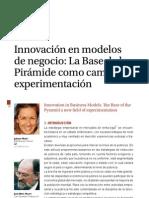 La Innovación en los Modelos de Negocio