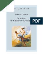 Download Il Libro Le Nozze Di Cadmo e Armonia Di Roberto Calasso