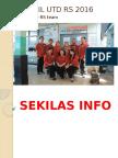 Profil Unit Transfusi Darah (UTD) RSUD dr. H. Soemarno Sosroatmodjo Kuala Kapuas Tahun 2017