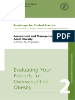 Evaluating Your Patients for Overweight or Obesity