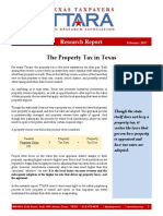 Property Tax In Texas - Research Report 2017