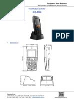 Datasheet Barcode Scanners Bcp 8000