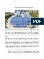 Benefiting From Solar Energy in India -2016