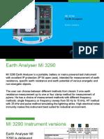 MI 3290 Earth Analyser