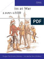 Osprey - Men at Arms 094 - The Swiss at War - 1300-1500