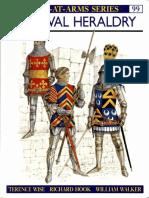 Osprey - Men at Arms 099 - Medieval Heraldry