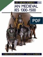 Osprey - Men at Arms 166 - German Medieval Armies 1300-1500