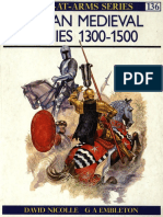 Osprey - Men at Arms 136 - Italian Medieval Armies 1300 - 1500