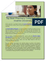 Top Best Pharmacy College in UP