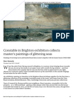 Constable in Brighton exhibition collec...g seas | Art and design | The Guardian