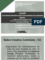 Copyleft Creative Commons Ve
