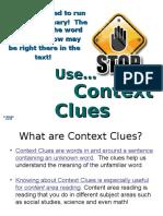 BD1Context Clues Power Point