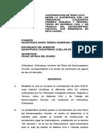 Contradicciòn de Tesis 5-2016 Pleno Del 17o Circuito Artìculo 105 Ley de Hidrocarburos