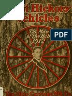 (1912) Split Hickory Vehicles