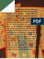 Creative Writing - FINAL