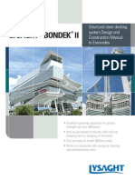 LYSAGHT Bondek II Design & Construction Manual to EC