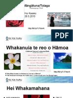 Māngātuna_Tolaga 2.6.15 .pptx