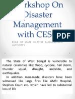 Presentation SDMA on Disaster Management