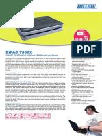Billion 7800X 3G/4G LTE VPN ADSL2+/Fibre Broadband Router