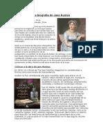 La Biografía de Jane Austen