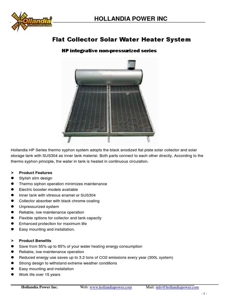 Water collector: description, principle of operation, advantages 72