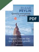 Download Il Libro Quand Je Serai Grande Je Serai Vieille Di Diane Peylin