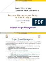(3) PMBody of Knowledge (Scope) Leangroup Org