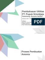PPT Utilitas di PT Pupuk Sriwijaya Palembang