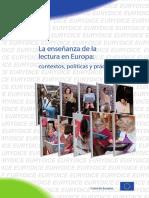 La enseñanza de la lectura en Europa (#EurydiceEU)