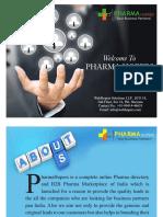 PharmaHopers India's First Complete B2B Pharma Marketplace