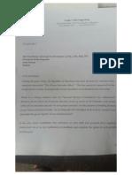 La pétition signée par les députés de l'opposition