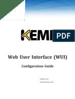 KEMP Configuration Guide-Web User Interface WUI