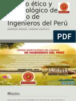Código Ético y Deontológico Del Colegio de Ingenieros