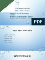 Panavision Lenses