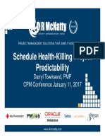 CPM Conference Schedule Health DTownsend