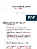 Anti-sexual Harassment Act