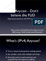 IPV4 anycast